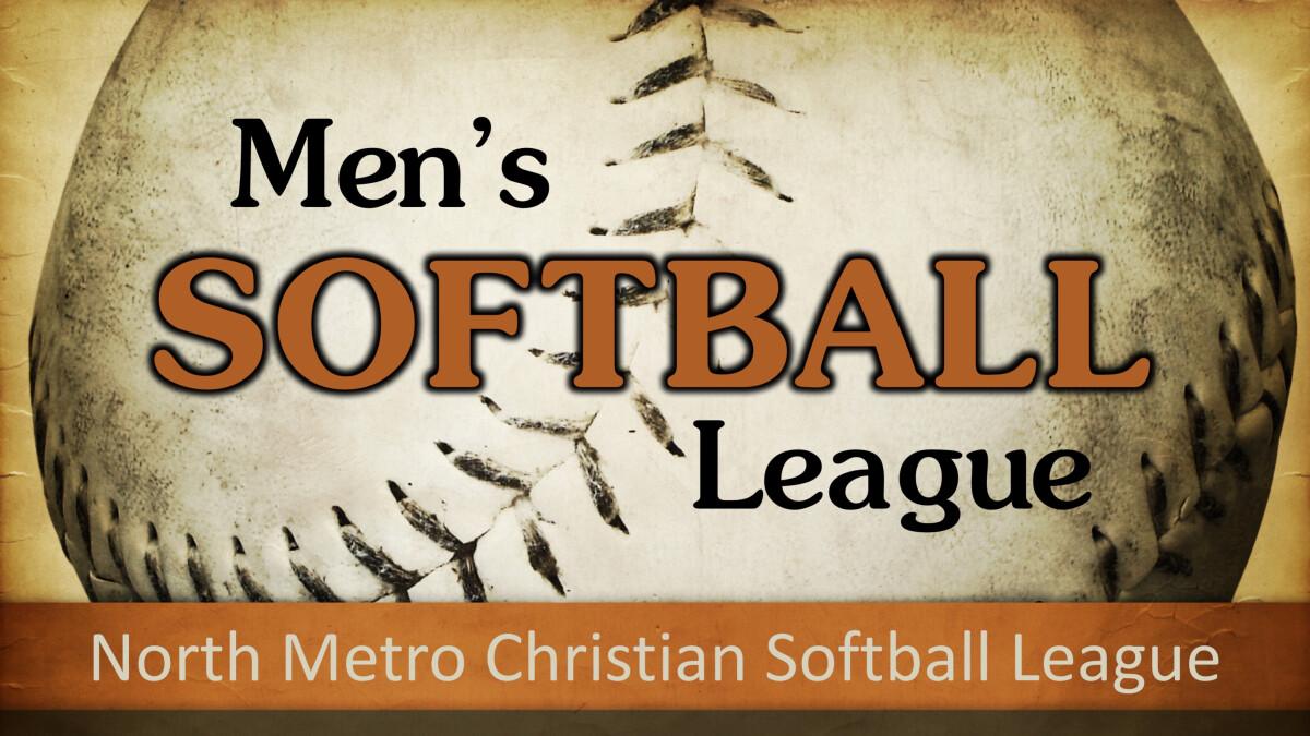 Men's League Softball Game