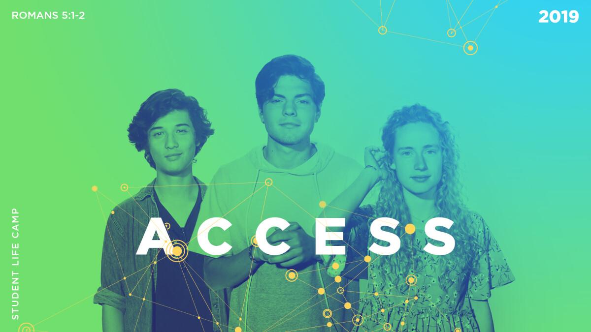 Student Life Camp   ACCESS 2019