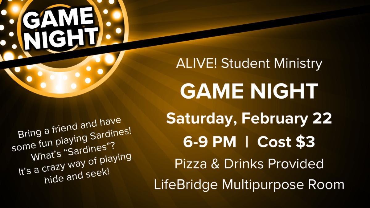 ALIVE! Game Night